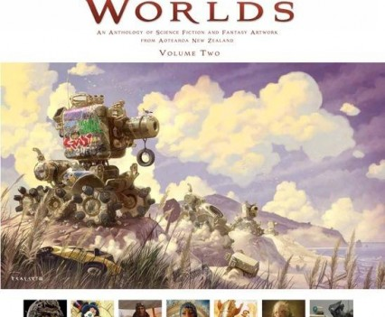 White Cloud Worlds vol.2 Book - Cover